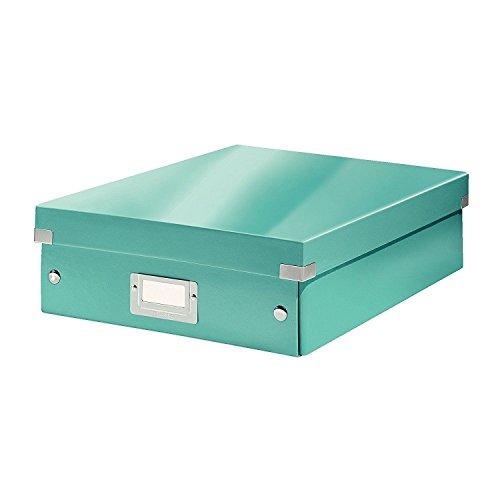 Leitz, Mittelgroße Organisationsbox, Eisblau, Click & Store, 60580051