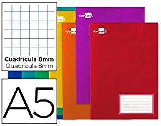 Libreta liderpapel scriptus A5 48 hojas 90g//m2 rayado n 46. 5 Unidades