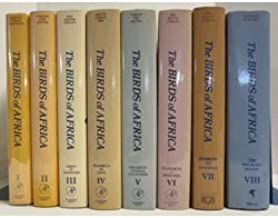 The Birds of Africa [complete in 8 volumes].