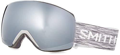 SMITH (SMIZD) Skyline Skibrille mit Chroma Pop, CLOUDGREY, Mittelgroße Passform