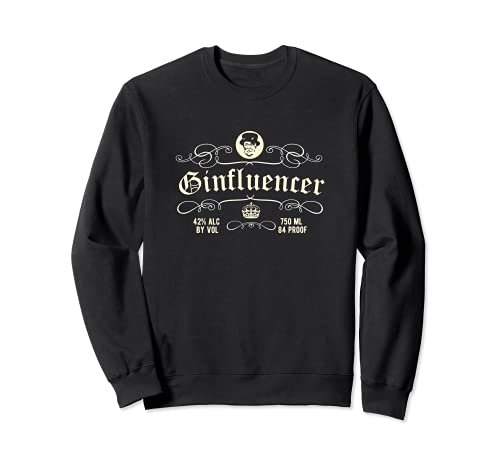 Gin Design Ginfluencer - das coole Original Gin Sweatshirt