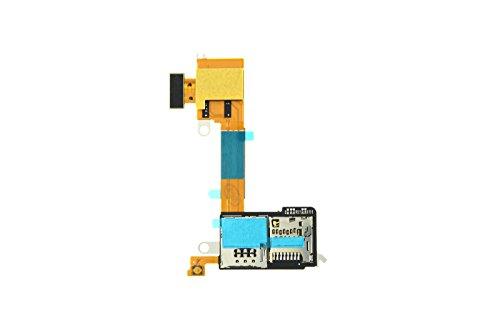 Sony Xperia M2 Aqua (D2403, D2406) Simkartenleser + Micro SD Kartenleser, Sim Card Reader + Einschalter Taste, Power Key Flex