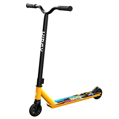 Hiboy ST-1 Pro Stunt Scooters - Aircraft Aluminum High Performance & 110mm Wheels - Best Beginner Trick Scooter - Freestyle Kick Scooter for Kids, Teens, and Adults (Golden)