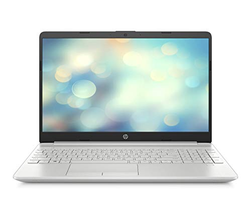 HP 15-dw1001ng (15,6 Zoll / Full HD) Laptop (Intel Core i7-10510U, 16GB DDR4 RAM, 512GB SSD, Intel HD Grafik, Windows 10 Home) Fingerabdruckleser, silber