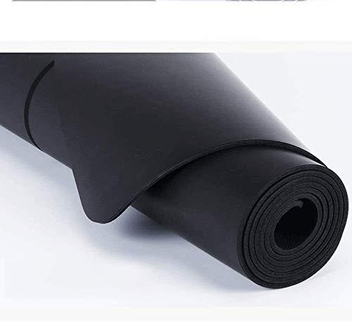Ligero y duradero Estera de entrenamiento estera de goma natural estera de yoga de la estera de yoga antideslizante fitness ejercicio estera de sudor absorbente antideslizante estera de entrenamiento