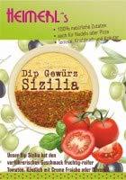 HEIMERLs Gewürzdip Sizilia mit fruchtigen Tomaten und Knoblauch, Gewürzzubereitung mitr Meersalz ohne Glutamatzusatz
