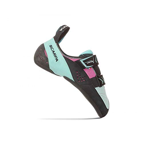 Scarpa - Chaussons Escalade Vapor V Femme 39 - Turquoise