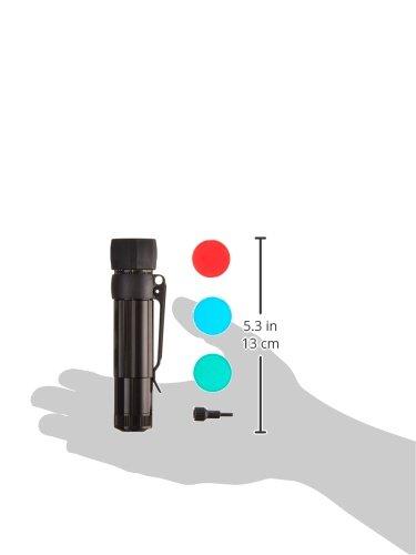 本体色:ブラック【明るさMAX:172ルーメン/タクティカル・クリップ、アンチロール・レンズ・カバー、フィルター同梱モデル】:MAGLITEXL200LEDFlashlight:XL200-S301C