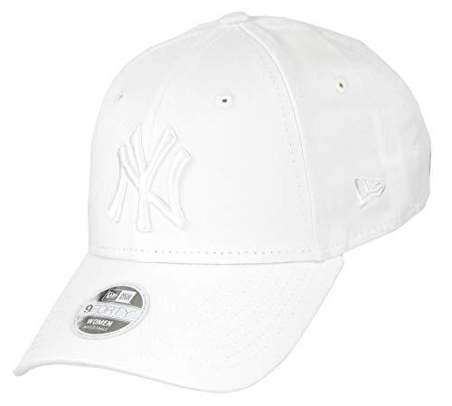 New Era York Yankees 9forty Adjustable Women cap MLB Rear Logo White - One-Size