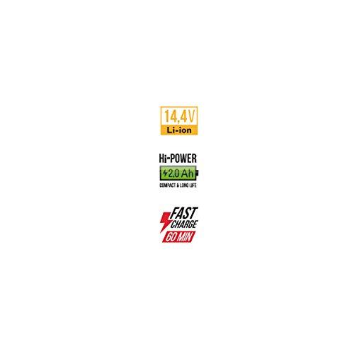 Akku-Bohrschrauber Vito 14,4V/2×2.0Ah + LED/Batterieanzeige - 7