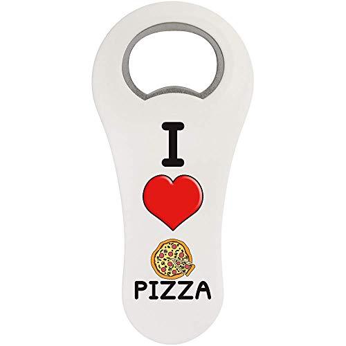 Stamp Press 'I Love Pizza' Magnetischer Flaschenöffner (BO00000017)