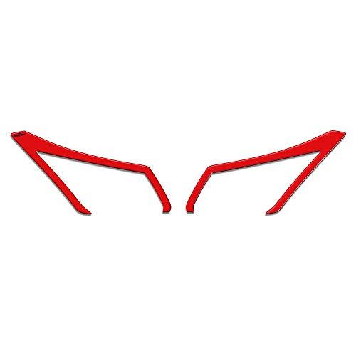 Adhésifs 3D Paupières pour Phares Mod 01 Compatible avec Yamaha Tmax 2012-2016