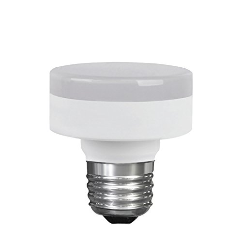 LED Closet Puck Light Bulb, Dimmable, 11W (60W Replacement), 800 Lumens, 4000K Cool White, E26 Medium Base, 120V, UL Listed (1 Pack)