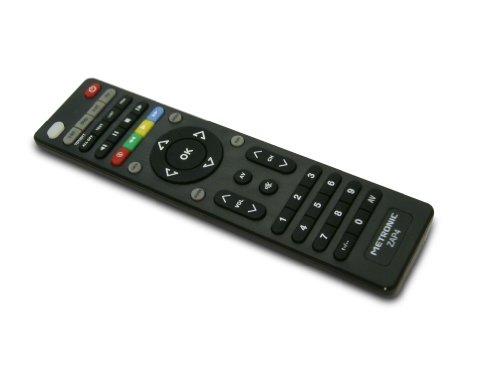 Metronic TCDE ZAP4 - Mando a distancia universal para TV, TDT, DVD y SAT, color negro