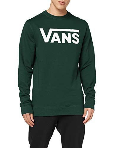 Vans Classic Crew II Pullover, Ago di Pino, M Uomo