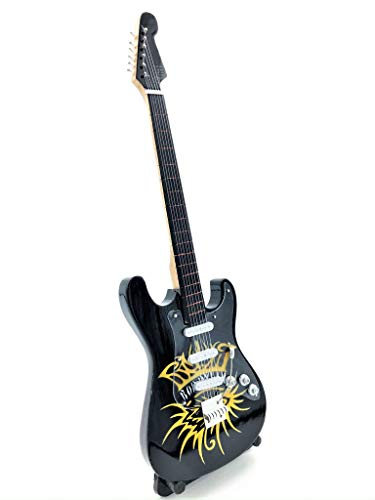 Miniature Fender Standard Stratocaster Guitar - Bob Dylan (Ornamental)