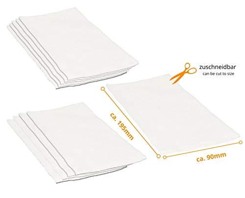 mächtig der welt DREHFLEX – 10 Mikrofilter / Luftfilter / Motorfilter / Abgasfilter / Mikrofilter können auf ca. geschnitten werden.