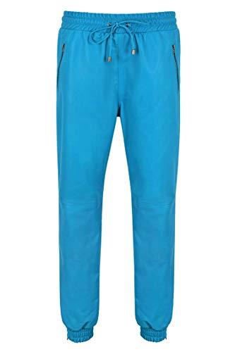 Smart Range Leather 2252/5000 Pantalón de Cuero Real para Hombre Pista para...