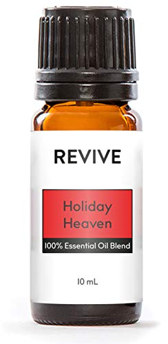 REVIVE Essential Oils - HOLIDAY'S HEAVEN 10 ml - 100% Pure Therapeutic Grade, For Diffuser, Humidifier, Massage, Aromatherapy, Skin &...