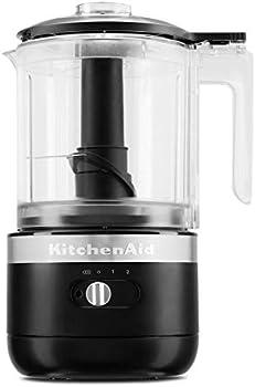 KitchenAid KFCB519BM 5 Cup Cordless Chopper + $10.00 Kohls Cash