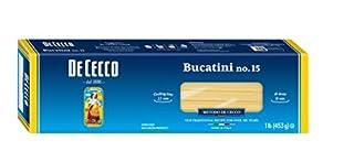 De Cecco Semolina Pasta Bucatini Pasta No.15, 1 LB (B0050ILALA) | Amazon price tracker / tracking, Amazon price history charts, Amazon price watches, Amazon price drop alerts