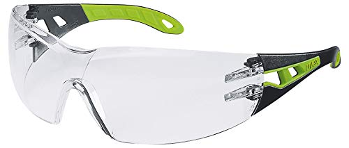 Uvex Pheos veiligheidsbril - Supravision Excellence - transparant/zwart-groen