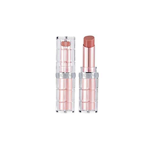 L'Oréal Paris Color Riche Plump & Shine 107 Coconut Plump, Lippenstift mit Menthol-Extrakt für...