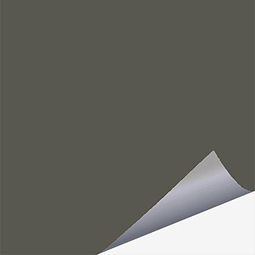 timalo Fliesenaufkleber 10 x 10 cm für Küche und Bad - für alle Wandfliesen (dunkelgrau (glänzend))