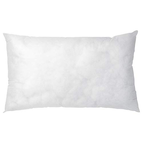 Linens Limited Value Range Polyester Hollowfibre Cushion Inner Pads, 30 x 50 Cm, 2 Pack