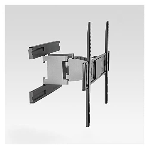 Soporte de TV TV totalmente dinámico de la TV de pared Soporte de la extensión giratoria Tild TV Mount Ultra Slim Embedded TV Soporte para la mayoría de los televisores de pantalla plana plana de 37 '