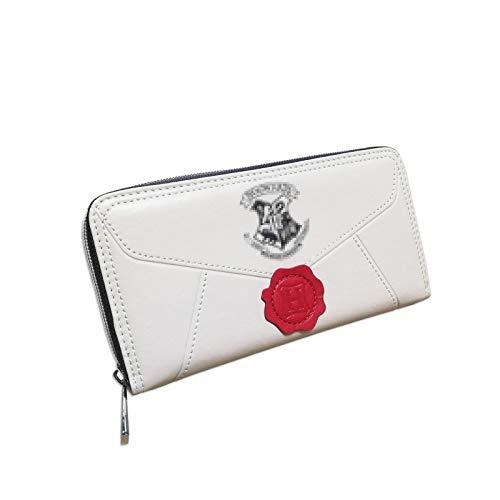 Damen Harry Potter Hogwarts 9 3/4 Abzeichen Tri-Fold Armband Clutch Bag Wallets