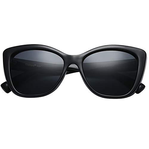 Polarspex Polarized Women's Oversized Square Jackie O Cat Eye Fashion Sunglasses