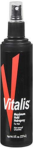 Price comparison product image Vitalis Maximum Hold Hairspray for Men 8 Oz, 2 Pack