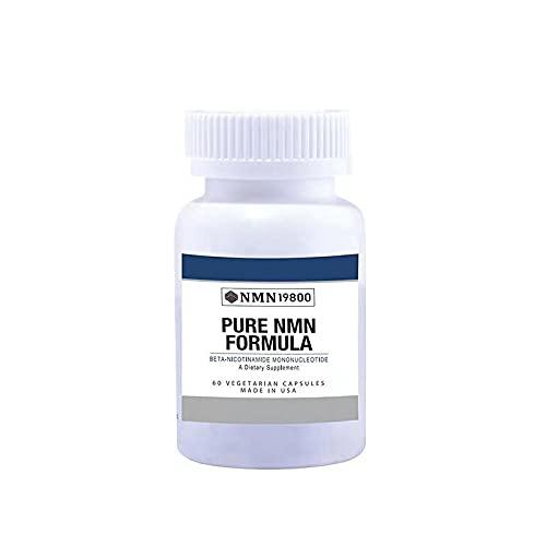 NMN Stabilized Form 500mg Serving Nicotinamide Mononucleotide Direct NAD Supplement.