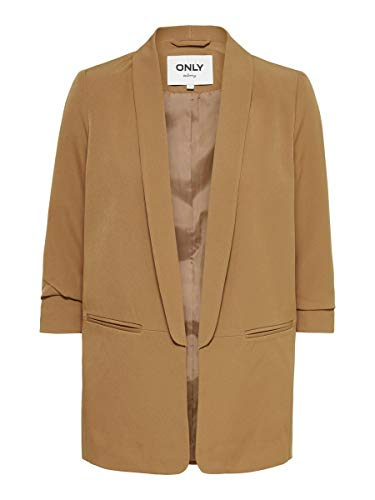 Only ONLELLY 3/4 Life Blazer TLR Noos, Coconut Toasted, 38 para Mujer