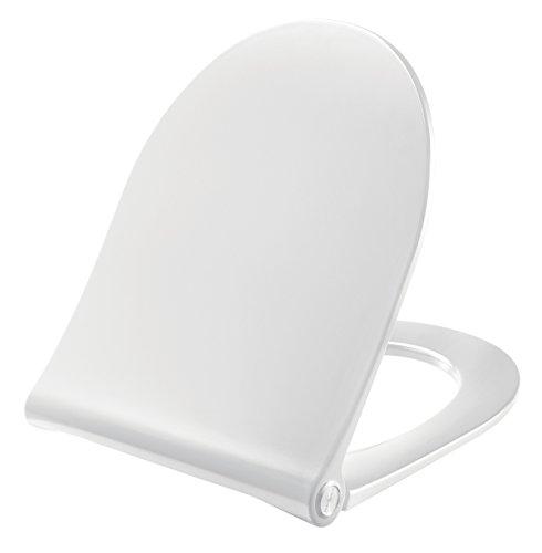 Pressalit Sway D WC-Sitz weiß, mit Absenkautomatik und Lift-Off, 934000BL6999; für Keramag 4U/iCon und Renova Nr. 1