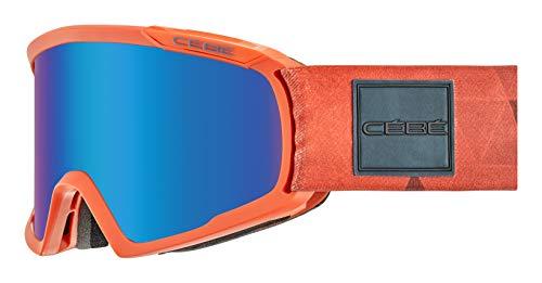 Cébé Fanatic L skibrillen, uniseks, volwassenen, mat oranje, large