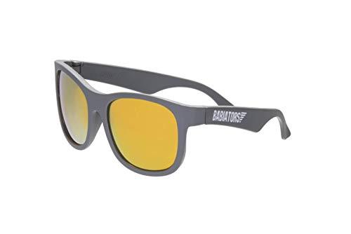 Babiators Blue Series UV Protection Children's Sunglasses, Grey Navigator, 6-10 Years