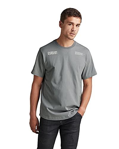 G-STAR RAW D19871 Camiseta, Charcoal C784-942, XS para Hombre