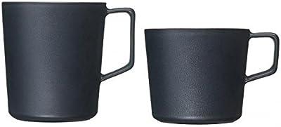 有田焼 匠の蔵 2.BLACK マグカップ ティーマグカップ セット