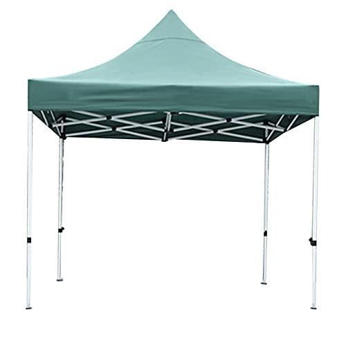 Camping Shelters, Gazebo 3 m x 3 m Hotel Cafe Toldo exterior impermeable cenador telescópico pesado verde blanco morado (tamaño: 3 m x 3 m, color: C)