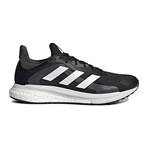 adidas Solar Glide 4 ST M, Zapatillas de Running Hombre, NEGBÁS/FTWBLA/GRISEI, 43 1/3 EU