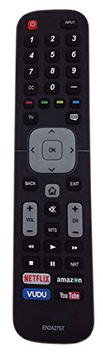 New EN2A27ST Replacement TV Remote Control for Sharp 4K Ultra LED Smart HDTV