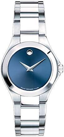 Movado Defio Quartz Black Dial Ladies Watch 0607309 product image