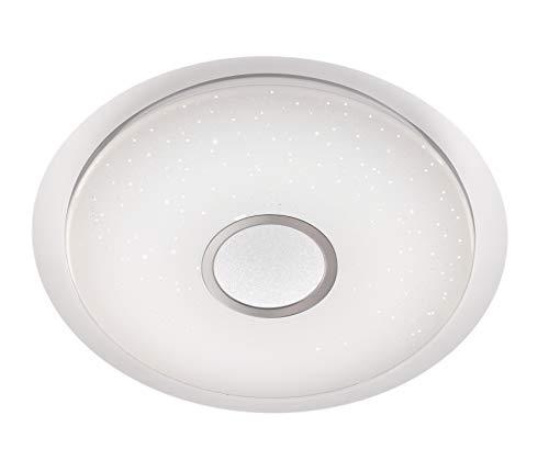 WOFI Deckenleuchte, Weiß, 80 x 80 x 16 cm