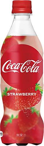 コカコーラ コカ・コーラ ストロベリー 500mlペットボトル×24本入
