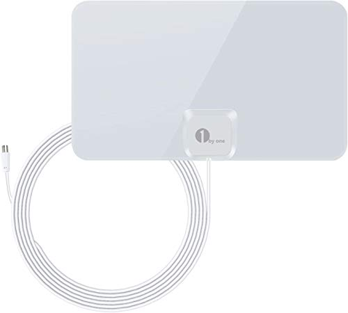 1byone Paper Thin HDTV Aerial with Excellent Performance for Digital...