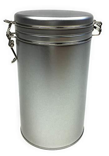Balna Kaffeedose rund Teedose Vorratsdose mit Bügelverschluss für 500g Kaffee Tee Lebensmittel Gewürze