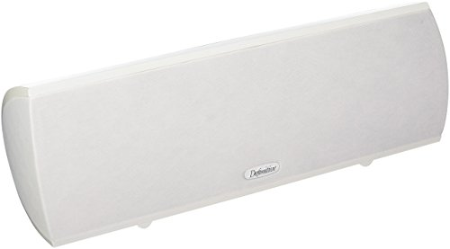 Definitive Technology ProCenter 1000 Compact Center Speaker (Single, White)