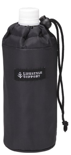 トルネ ペットボトル カバー ホルダー ケース 保冷 保温 500ml用 シンプル ブラック P-3217